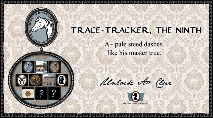 Unlock A~ Clue: Trace Tracker, The Ninth