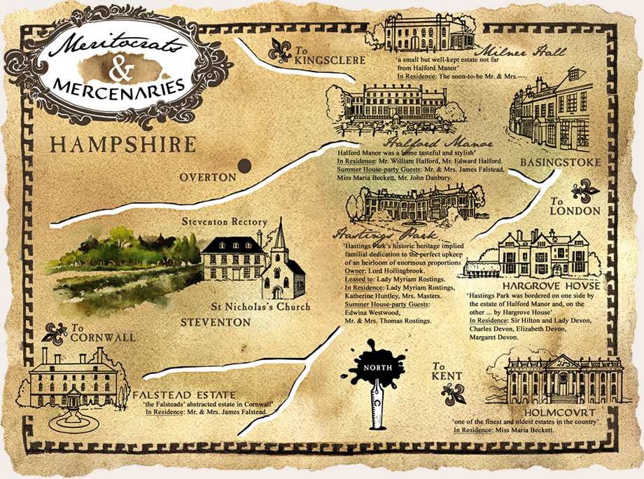 Hampshire Map
